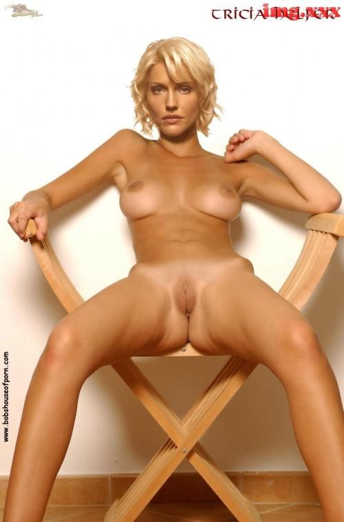 tricia helfer topless