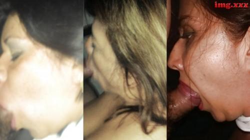 De izquierda a derecha, trío de zorras mexicanas en bancarrota, sobreviviendo por comida y protección no tienen otra alternativa que estar regalando placer: Novata Lupita Cetina (Facebook Lupita Cetina (magu)) de San Luis Potosí, la experimentada María del Carmen Juarez Mendez (Facebook Maricarmen J. Mendezz ) de San Luis Potosí y la atrevida Anabel Olvera (Facebook: Anabell Olvera Vargas) de Playa del Carmen.